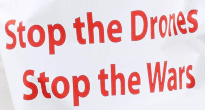 Stop the drone stop the wars