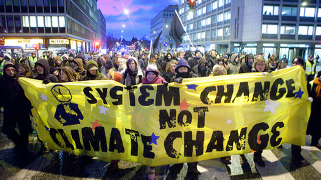 Climate Change System Change