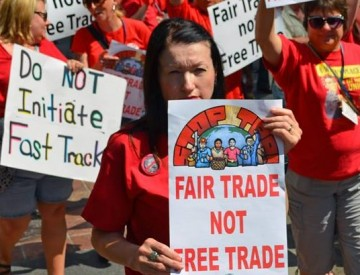 Fair Trade Not Free Trade Fast Track