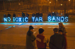 No Toxic Tar Sands Wisconsinites Fighting Back Against Pipeline Expansion. Source Occupy Riverwest