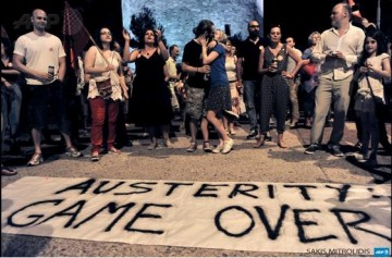 Greece austerity game over