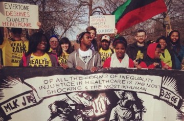 Health care is a human right  united workers