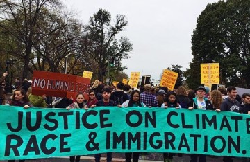 Justice on Climate Race and Immigration